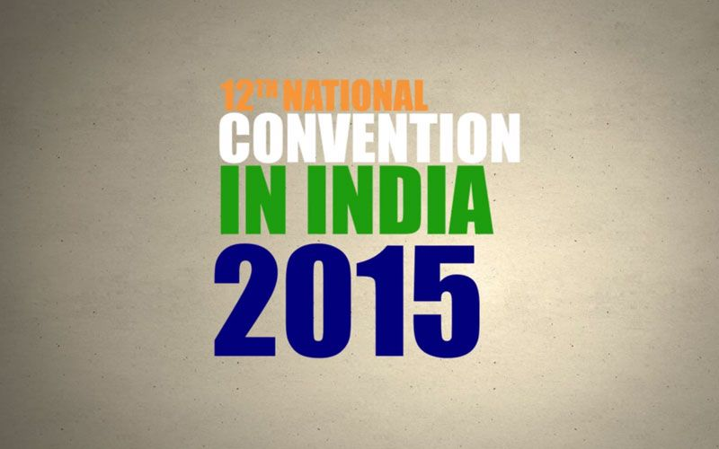 National Convention in India 2015